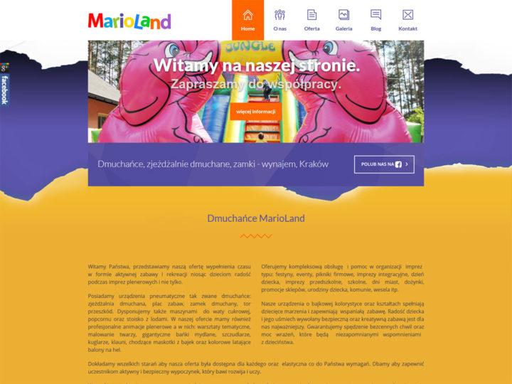 Dmuchańce-marioland.pl