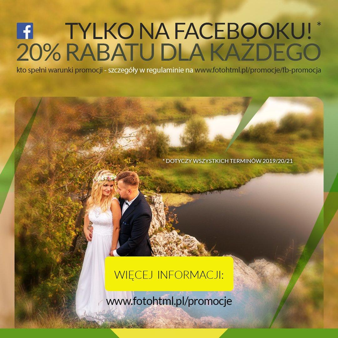 FB promocja - rabat do 20%